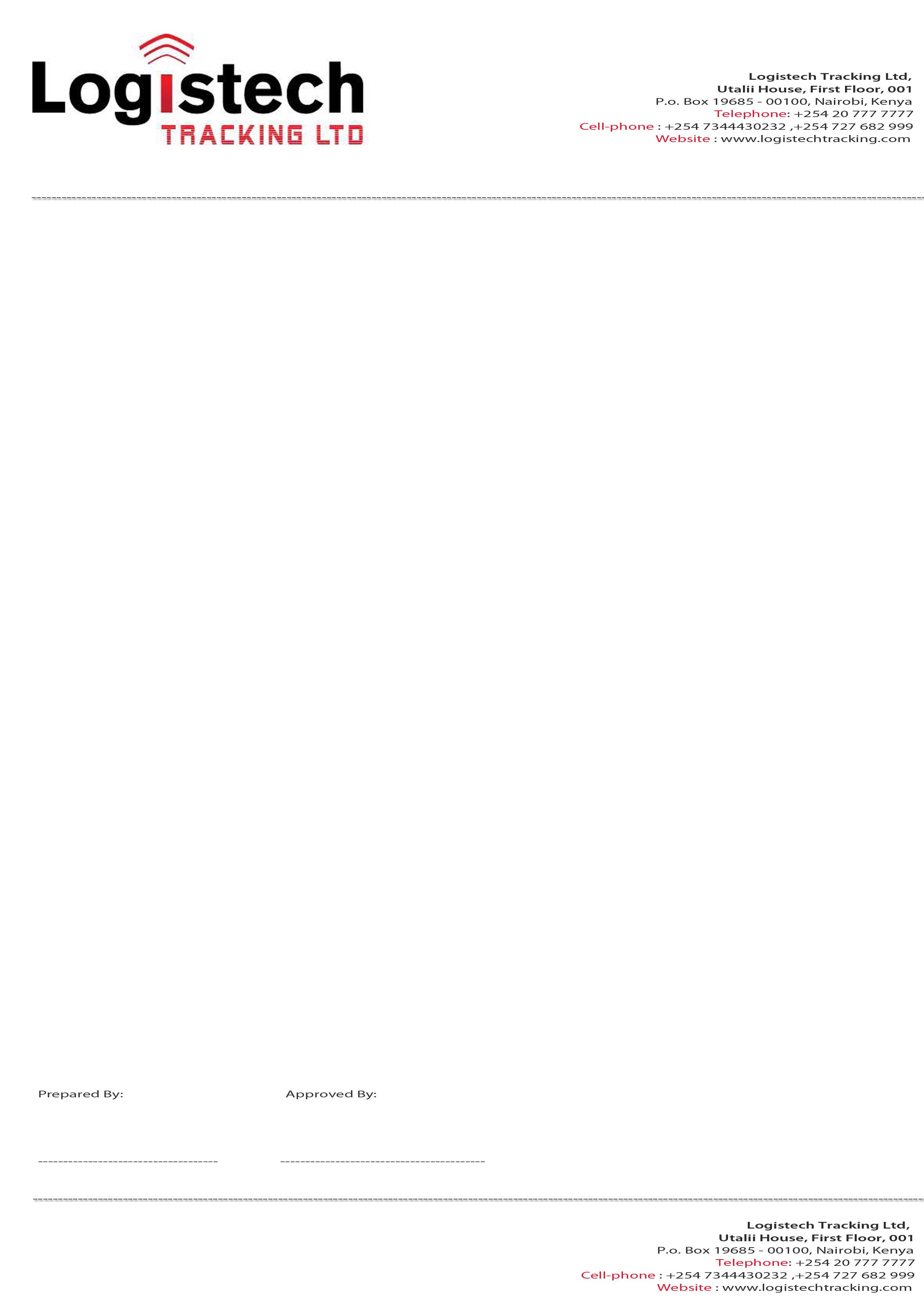 Letterheads The Print Experts Ltd – Company Letterheads